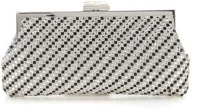 Kate Landry All-Over Pave Stone Clutch