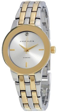 Anne Klein Silver Dial Ladies Watch