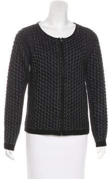 Tahari Long Sleeve Knit Sweater