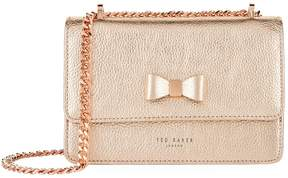 Ted Baker Draya Bow Detail Metallic Bag
