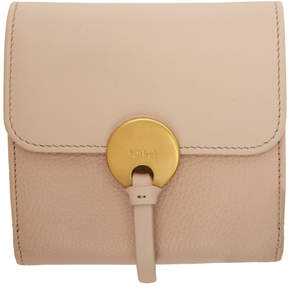 Chloé Pink Indy Square Wallet