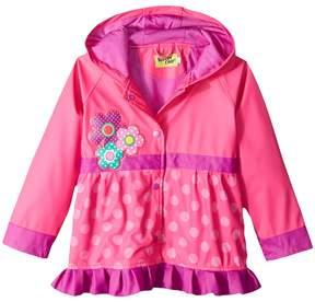 Western Chief Flower Cutie Rain Coat Girl's Coat