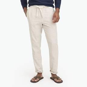 J.Crew Mercantile Driggs slim-fit linen-cotton drawstring pant
