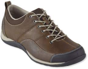 L.L. Bean L.L.Bean Women's Beansport Lace-Up Shoe, Leather