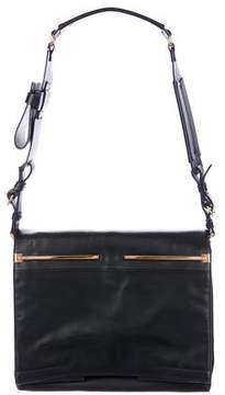 Lanvin Leather Flap Shoulder Bag