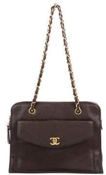 Chanel CC Caviar Shoulder Bag