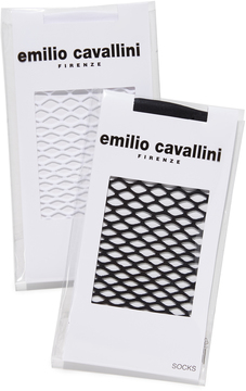 Emilio Cavallini Large Fishnet Sock Set