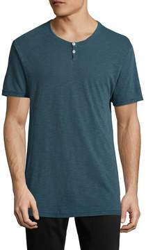 Alternative Apparel Men's Home Team Cotton Henley