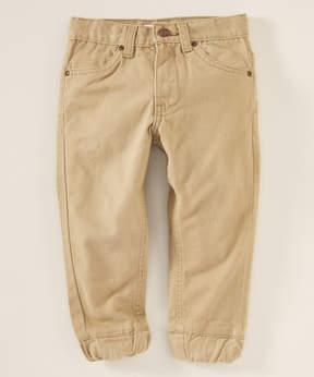 DKNY Khaki Jogger Pants - Toddler & Boys