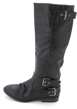 Rampage Womens Idola Almond Toe Knee High Fashion Boots.
