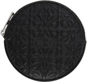 Loewe Black Anagram Cookie Coin Pouch