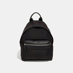 Salvatore Ferragamo Capsule Embr Nylon Backpack