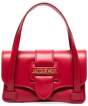 Jacquemus red Le Sac Minho leather mini bag