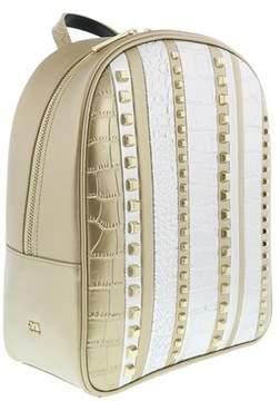 Roberto Cavalli Milano Backpack Milano Rmx 006 Light Gold/silver Backpack