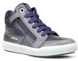 Geox Toddler Boy's Arzach High Top Sneaker