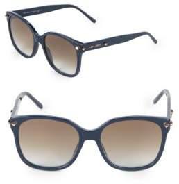 Jimmy Choo Dema 56MM Square Sunglasses