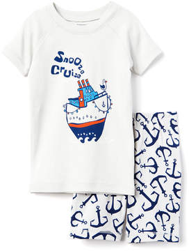 Gymboree Grey 'Snooze Cruise' Tee & Shorts - Boys