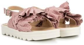 Ermanno Scervino ruffled sandals