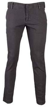 Entre Amis Men's 81881118505 Grey Cotton Jeans.