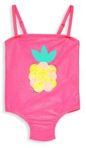 Billieblush Baby's& Toddler's Pineapple One-Piece Swimsuit