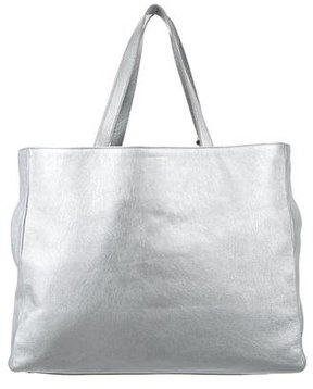 Saint Laurent Reversible Shopper Tote - METALLIC - STYLE
