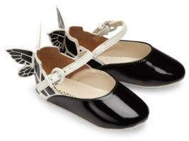 Sophia Webster Baby's Chiara Mini Butterfly Patent Leather Mary Janes