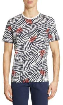 Madison Supply Allover Graphic Print Tee