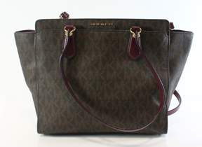 Michael Kors Dee Dee Large Convertible Logo Tote - Brown - 30F6GTWT4B-200 - BROWNS - STYLE