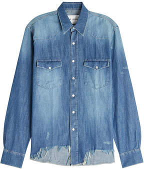 Our Legacy Distressed Denim Shirt