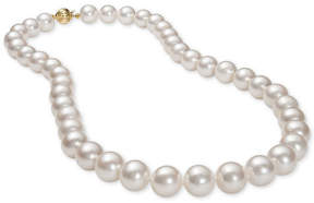 Belle de Mer Cultured Freshwater Pearl (9-1/2mm) Collar Necklace