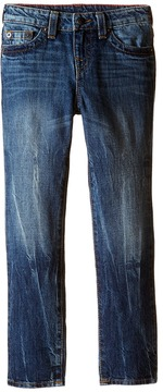 True Religion Fashion Geno Single End Jeans in Blue Book Boy's Jeans