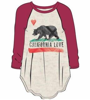 Billabong Girls' Cali Bear Original Long Sleeve Tee 8167440