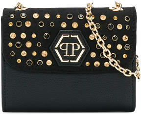 Philipp Plein Junior Teen embellished shoulder bag