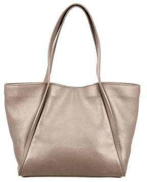 Akris Metallic Small Alex Tote