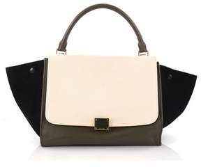 Celine Pre-owned: Tricolor Trapeze Handbag Leather Small.