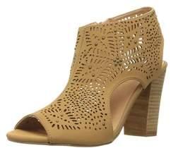 XOXO Womens Betta Open Toe Casual Slingback Sandals.