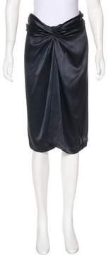 Aquilano Rimondi Aquilano.Rimondi Silk Knee-Length Skirt