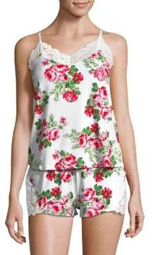 Flora Nikrooz Flora By Two-Piece Floral Cami Set