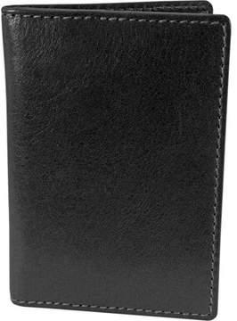 Florsheim Vegetable Leather Folding Card Holder (Men's)