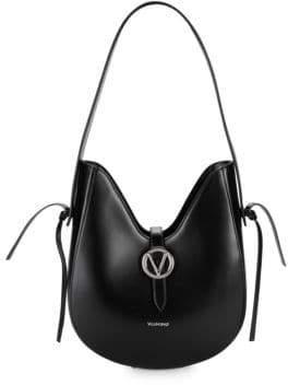 Mario Valentino Anny Leather Hobo Bag