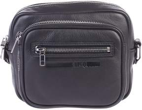 McQ Black Zipped Shoulder Bag