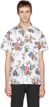 Paul Smith White Floral Shirt