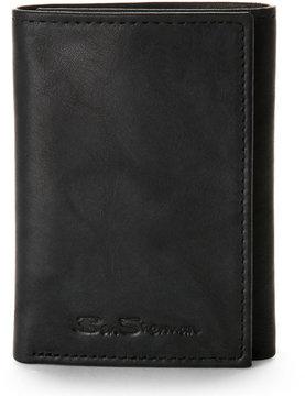 Ben Sherman Black Manchester Trifold Wallet