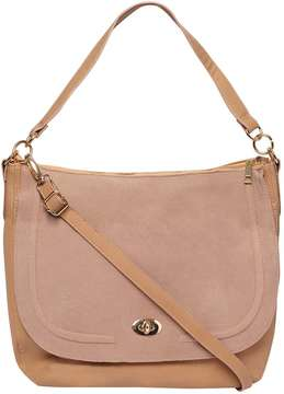 Tan Flap Cross Body Bag
