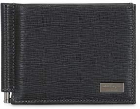 Salvatore Ferragamo Revival Leather Money Clip Wallet