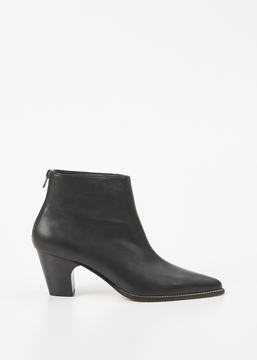Rachel Comey Black Kidskin Sonora Ankle Boot