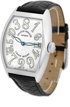 Franck Muller Crazy Hour Stainless Steel Strap Watch