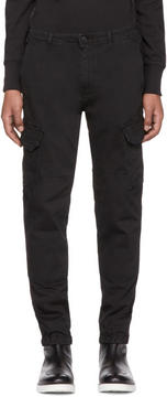 Belstaff Black Thorney Cargo Pants
