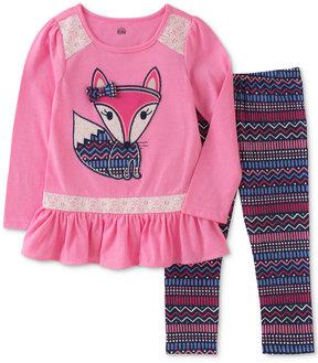 Kids Headquarters 2-Pc. Fox Tunic & Leggings Set, Little Girls (4-6X)
