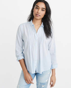 Abercrombie & Fitch Pintuck Shirt